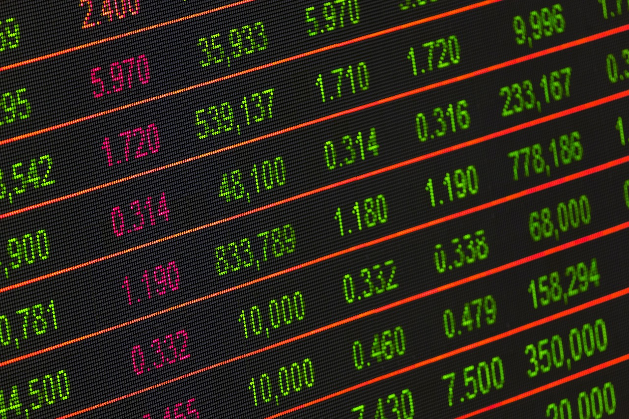 Image of Stocks Ticker
