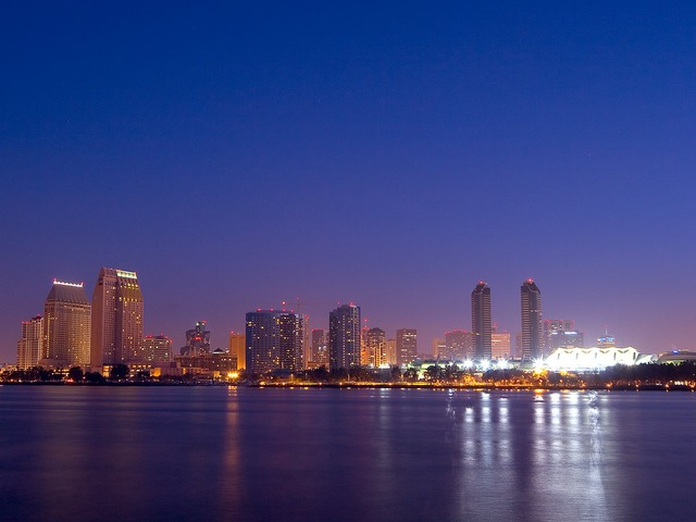 Image of San Diego City Skyline