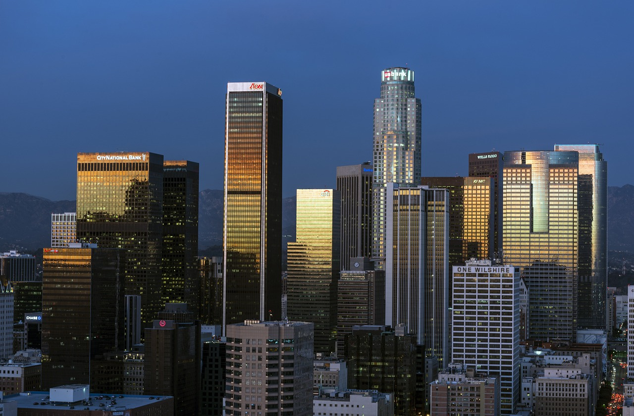 Image of Los Angeles City Skyline