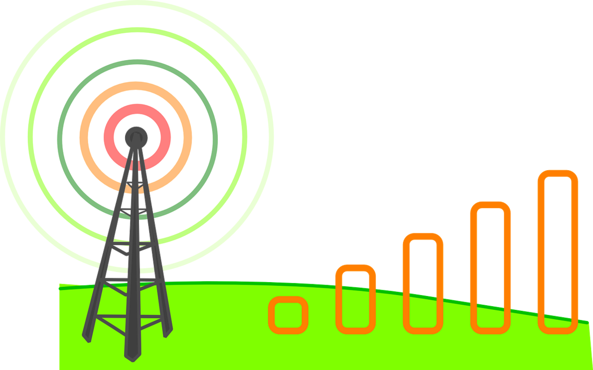 Image of Wireless Signal Graphic